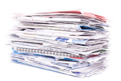 Papers, bills, documents Stock Photos