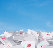 Papers Royalty Free Stock Image