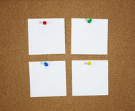 Papers on the board Stock Images