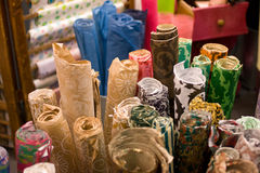 Papers for crafts. Papers with different colors for crafts Stock Photos