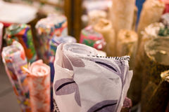 Papers for crafts. Papers with different colors for crafts Stock Images
