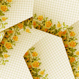 Papers design in scrapbooking style Royalty Free Stock Photography