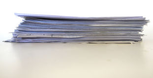 Papers Pile Stock Image