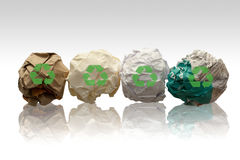 Papers for recycling Royalty Free Stock Photography
