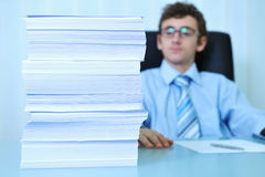 Papers stack Royalty Free Stock Image
