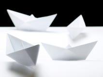 Papership fleet Royalty Free Stock Images