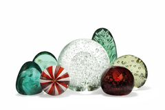 Paperweights glass antique Royalty Free Stock Photography