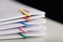 paperwork fotografie stock libere da diritti