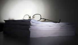 Paperwork royalty free stock image