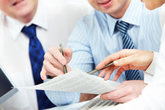 Paperwork Stock Images