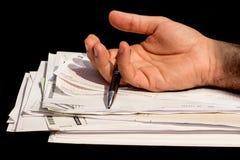 paperwork Fotografia Stock
