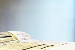 Paperwork Royalty Free Stock Photos