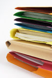 Paperwork in Folders Royalty Free Stock Photo