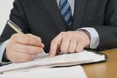 Paperwork Royalty Free Stock Images