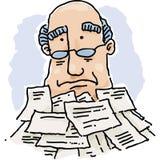 Paperwork Pile Stock Image