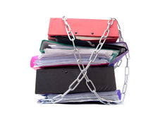 Paperwork pile Stock Photography