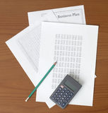 Paperwork on the Table Stock Images