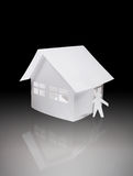 Papery toy house Stock Image