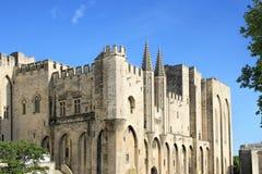 Papes Palace à Avignon, France Image stock
