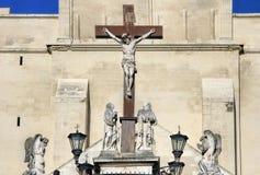 Papes Palace à Avignon, France Photo stock