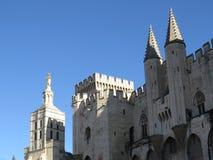 papes palais des Франции avignon Стоковая Фотография