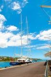 Papete, cityview Zdjęcia Royalty Free
