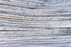 Papeterie Single-sheet des retraits de projet Photo stock