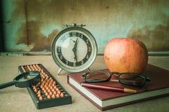 Papeterie sur le bureau Photo libre de droits