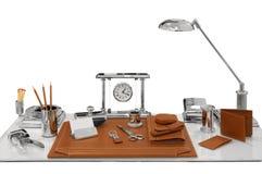 Papeterie sur une table Photo libre de droits