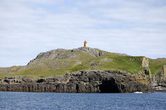 Papey island, Iceland. Royalty Free Stock Photos