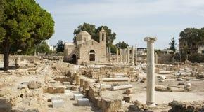 Paphos,塞浦路斯,欧洲 免版税库存图片