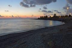 Paphos Airport Beach Stock Photos