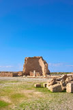 Paphos archaeological park at Kato Pafos in Cyprus Stock Photos