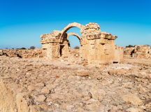 Paphos archaeological park at Kato Pafos in Cyprus Stock Photography