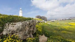 Paphos Archeologiczny park - Cypr Zdjęcia Stock