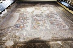 Paphos Archeologiczny park - Cypr Obrazy Stock