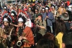 Paphos Carnaval 2016 royalty-vrije stock fotografie