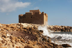 Paphos castle Stock Photo