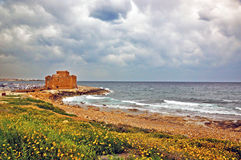 Paphos Castle, Cyprus Royalty Free Stock Photography