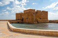 Paphos Castle, Cyprus Stock Image