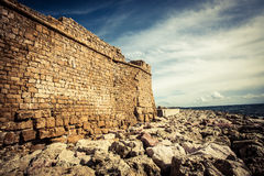 Paphos Castle Royalty Free Stock Photography