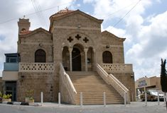 Paphos. Church Teoskepasti Royalty Free Stock Photo
