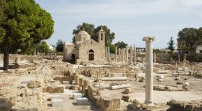 Paphos, Chypre, l'Europe Image libre de droits
