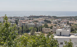 Paphos cityscape in Cyprus Stock Photo