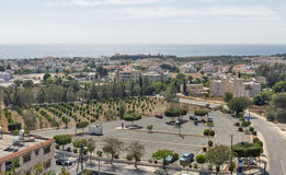 Paphos cityscape in Cyprus Royalty Free Stock Images
