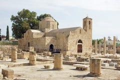 Paphos Cypern, Europa royaltyfria bilder