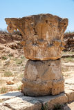 PAPHOS, CYPRUS/GREECE - 22. JULI: Altgriechischeruinen in Paphos stockbilder