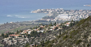 Paphos, Cyprus. Landscape with Peyai village in Paphos area, Cyprus Stock Photo