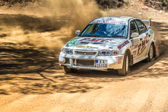 PAPHOS, CYPRUS - March 27, 2016:  39th Venus Rally in Panagia Fo Royalty Free Stock Image