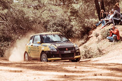 PAPHOS, CYPRUS - March 27, 2016:  39th Venus Rally in Panagia Fo Stock Photography